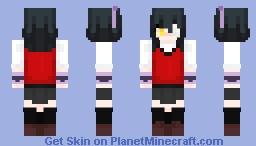 Midari Ikishima - Kakegurui Minecraft Skin