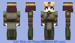 Kyoshi [Avatar The Last Airbender] Minecraft Skin