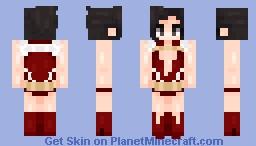 𝓁𝓊𝓃𝒶𝒸𝒽𝓊𝓊 ~ momo yaoyorozu Minecraft Skin