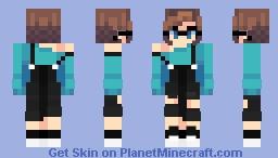 7 rings Minecraft Skin