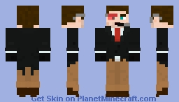 Super Secret Undercover Agent Minecraft Skin