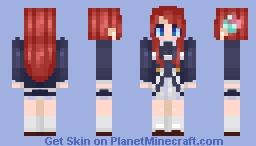 Sakura Minamoto Minecraft Skin