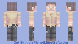 Rick Grimes | The Walking Dead | A New Beginning Minecraft Skin