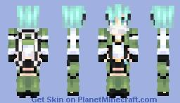 sinon / ggo Minecraft Skin