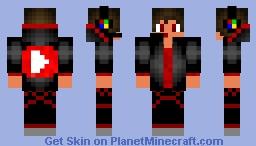 Youtuber Skin --{ Updated Version }-- Minecraft Skin