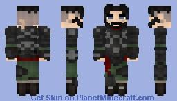 The Disgraced Blackmark Minecraft Skin