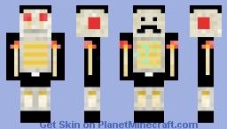 Mumbo Jumbo(Redstone Skin) Minecraft Skin