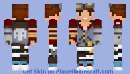 Mechromancer (Male) Minecraft Skin