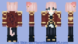 CATGIRL PIRATE [?] also hi it's been literally 3 yrs Minecraft Skin