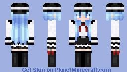 Hibiki Kantai Minecraft Skin
