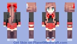 Formal Monika Minecraft Skin