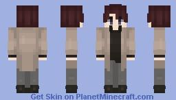 Oda Sakunosuke || Bungou Stray Dogs Minecraft Skin