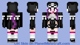 Medusa (Lancer) メドゥーサ Fate/GrandOrder Minecraft Skin