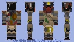 Apex Legends - Bloodhound Minecraft Skin