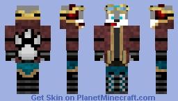 The Steampunk Furry Gamer Minecraft Skin