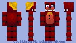 REDBEAR Minecraft Skin