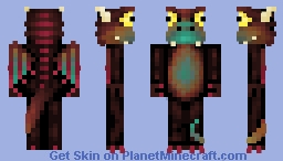 Baby dragon (colors test) Minecraft Skin