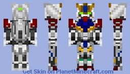 Gundam Barbatos Lupus - ASW-G-08 Minecraft Skin