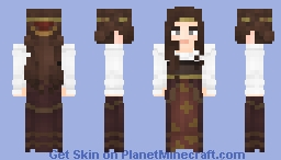 [LotC] Princess of the Tea Party Minecraft Skin