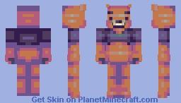 Pooh Bear - DragonsDungeon Pallete Contest Minecraft Skin