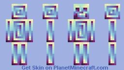 Multidimensional skelly Minecraft Skin