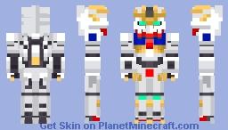 ASW-G-08 Gundam Barbatos Lupus Rex Minecraft Skin