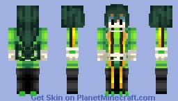 Tsuyu Asui (BNHA) Minecraft Skin