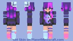 . ghosty . skintober . day 3 . Minecraft Skin