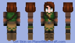 Hartrif Bloodmoon Minecraft Skin