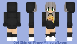 Pizza girl Minecraft Skin