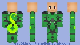 Matt Gargan/The Scorpion (Unmasked) Minecraft Skin