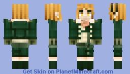 Denki Kaminari Minecraft Skin
