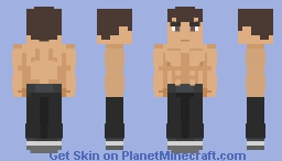 Fei Long. Minecraft Skin