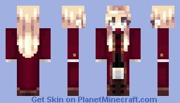 Durmstrang Uniform//Female Minecraft Skin