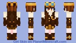SteamPunk Tath Minecraft Skin