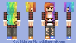This is Karen Minecraft Skin