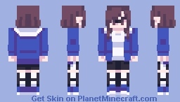 ||Lu||Here take a ticket, welcome to my paradise. Minecraft Skin