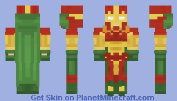 Mister Miracle - Justice Craft Skin Minecraft Skin