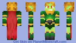 Nylocke, Dragon of the Cold Steel! Minecraft Skin