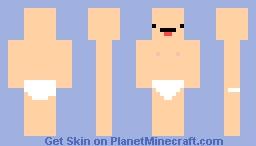 Nipple man Minecraft Skin