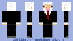 Sheep In A Suit (Cool Sheep) Minecraft Skin