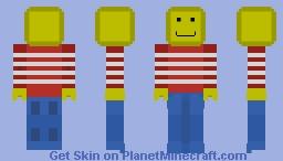 Lego Dude (idk if i like it or not) Minecraft Skin