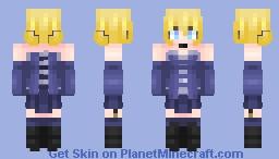Cute mage girl Minecraft Skin