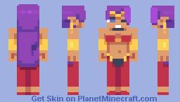 Shantae Minecraft Skin