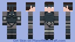 Solid Snake   Metal Gear Solid Minecraft Skin