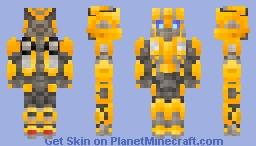 Bumblebee - Transformers: Bumblebee Minecraft Skin