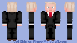Donald John Trump - 45th president of the USA Minecraft Skin
