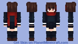 Ayano's Theory of Happiness Minecraft Skin