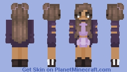 non-neko ver of nekoseries part 1 Minecraft Skin