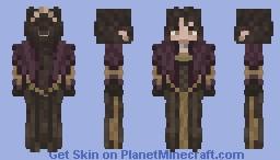 Alaine's Ball Gown Minecraft Skin